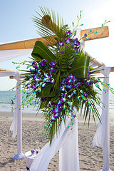 Custom Affordable Beach Wedding