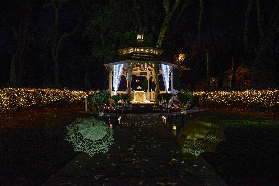 Romantic Gazebo Wedding
