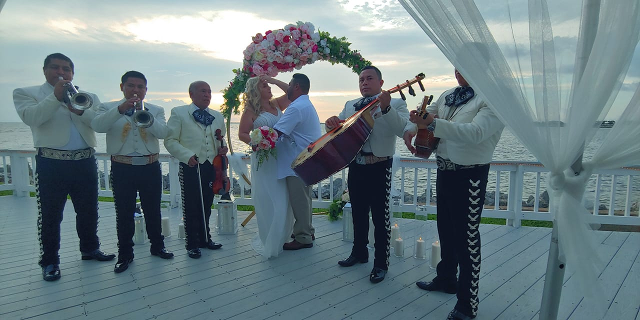 Waterfront Tampa Bay Wedding Ceremony